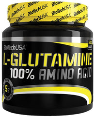 BioTechUSA 100% L-Glutamine, Unflavoured - 500 grams