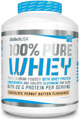 BioTechUSA 100% Pure Whey, Strawberry - 2270 grams