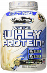 MuscleTech Premium 100% Whey Protein Plus, Triple Chocolate - 2270 grams