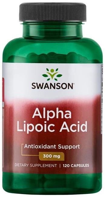 Swanson Alpha Lipoic Acid, 300mg - 120 caps