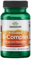 Swanson Activated B-Complex - 60 vcaps