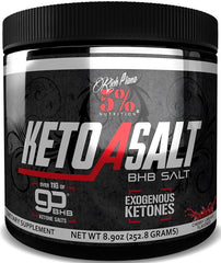 5% Nutrition Keto aSALT with goBHB Salts, Cherry Limeade - 252 grams