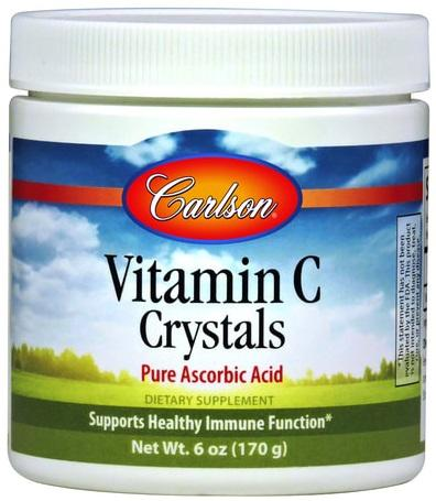 Carlson Labs Vitamin C Crystals - 170 grams