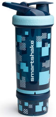 SmartShake Revive Series Shaker, Pixel Blue - 750 ml.