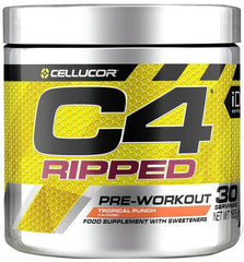 Cellucor C4 Ripped, Icy Blue Raz - 165 grams
