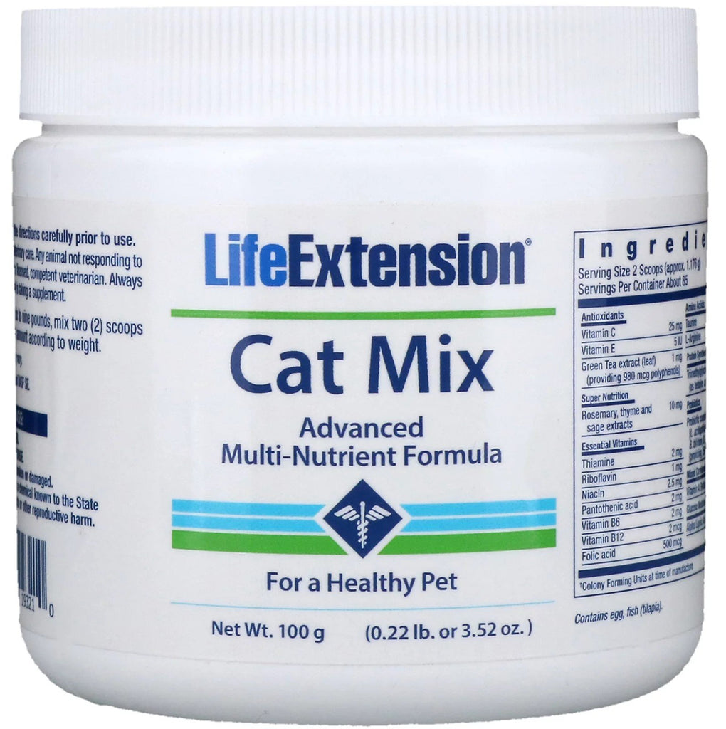 Life Extension Cat Mix - 100 grams