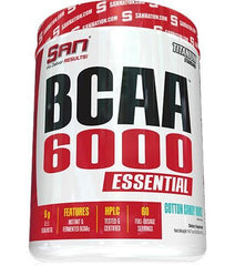 SAN BCAA 6000 Essential, Cotton Candy Burst - 417 grams