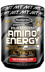 MuscleTech Platinum Amino + Energy, Watermelon - 288 grams