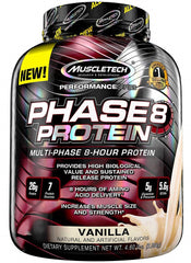 MuscleTech Phase8 Protein, Vanilla - 2090 grams