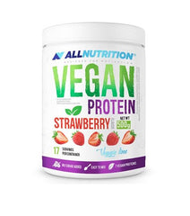 Allnutrition Vegan Protein, Strawberry - 500 grams