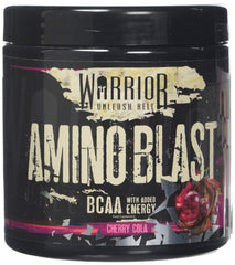 Warrior Amino Blast, Cherry Cola - 270 grams