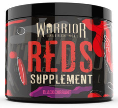Warrior Reds, Blackcurrant - 150 grams