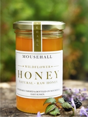 Mousehall Natural & Raw Wildflower Honey