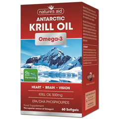 Natures Aid Krill Oil 500mg 60's