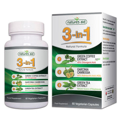 Natures Aid 3-in-1 Natural Formula 60's