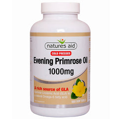 Natures Aid Cold Pressed Evening Primrose Oil 1000mg 180's