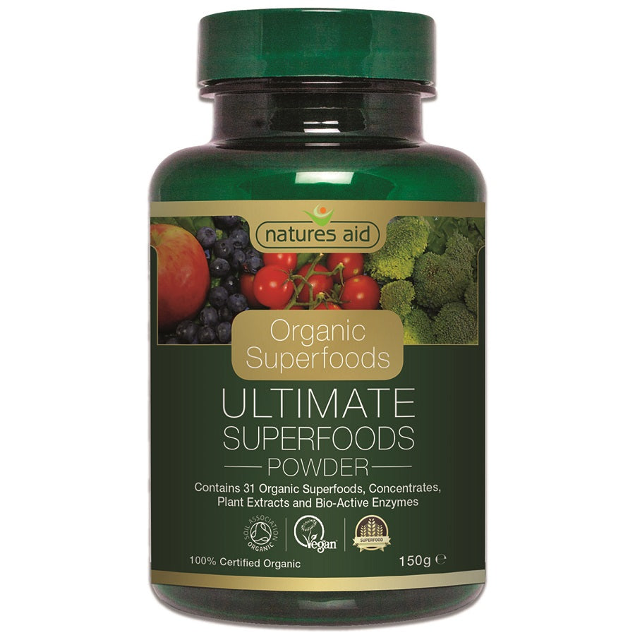 Natures Aid Organic Ultimate Superfoods Powder 150g