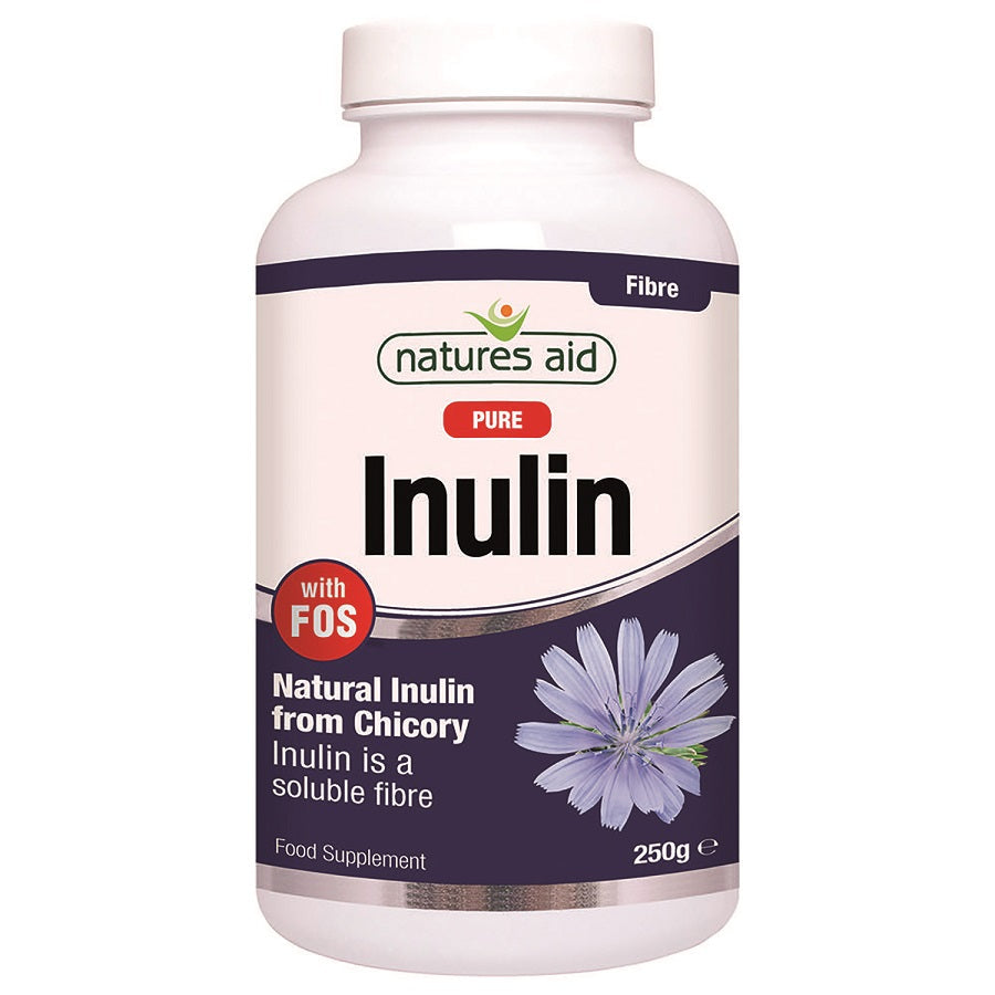Natures Aid Inulin with FOS 250g