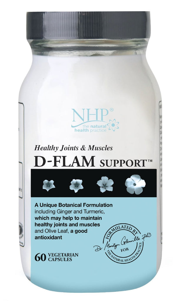 Natural Health Practice (NHP) D-Flam Support 60's