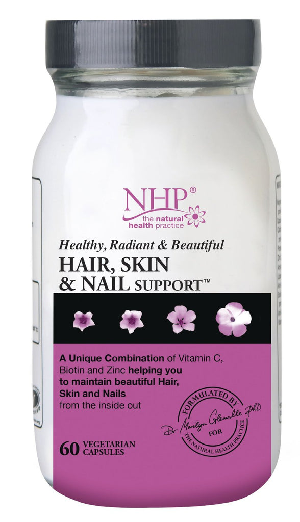 Natural Health Practice (NHP) Hair, Skin and Nail Support 60 veg caps