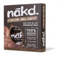 Nakd Cocoa Delight Bar 4 x 35g Multipack