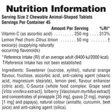 Nature's Plus Animal Parade VITAMIN C 90's
