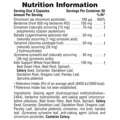 Nature's Plus KetoLiving Sugar Control 90's