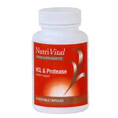 Nutrivital HCL and Protease 90's