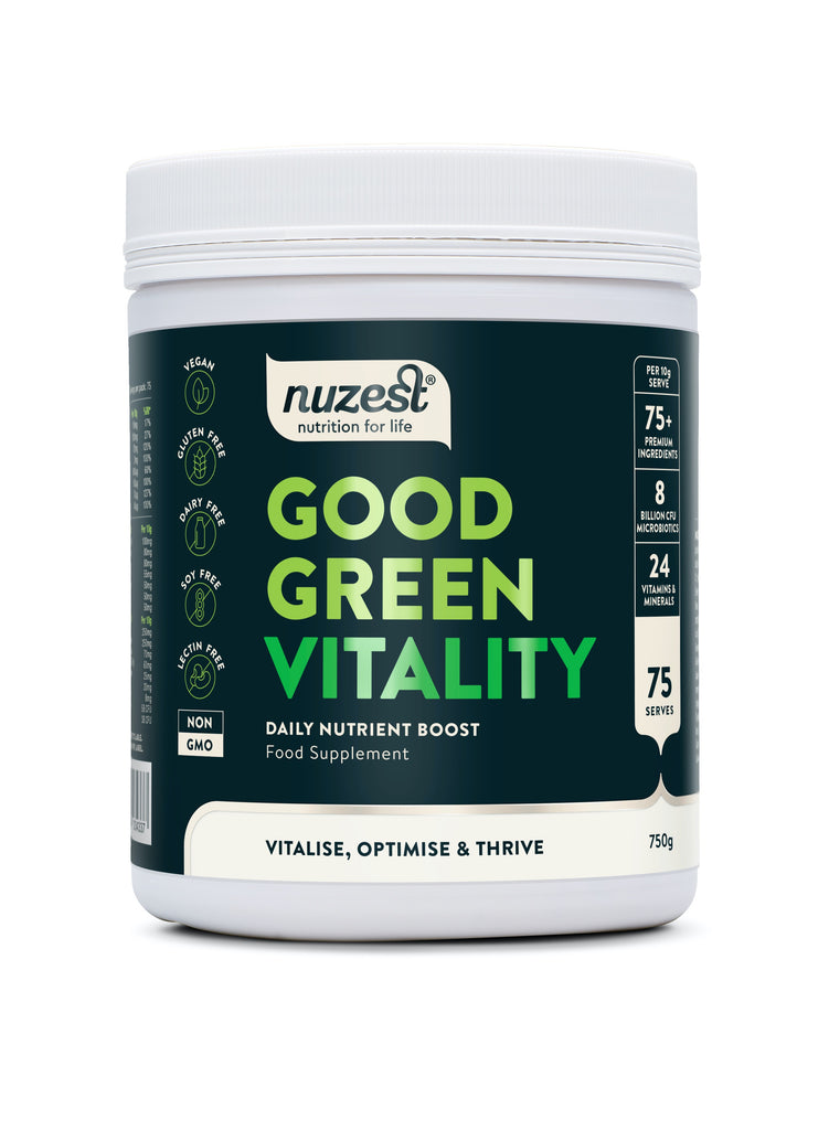Nuzest Good Green Stuff Vitality 750g