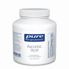 Pure Encapsulations Ascorbic Acid 250's