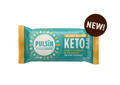 Pulsin Choc Fudge & Peanut Keto Bar 18 x 50g CASE
