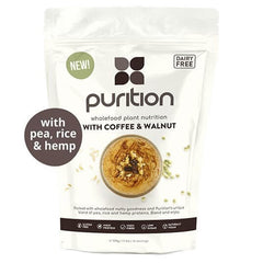 Purition Wholefood Nutrition With Coffee & Walnut DAIRY FREE 500g