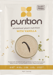 Purition Wholefood Nutrition With Vanilla DAIRY FREE SINGLE SACHET 40g