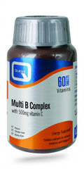 Quest Vitamins Multi B Complex with 500mg Vitamin C 60's