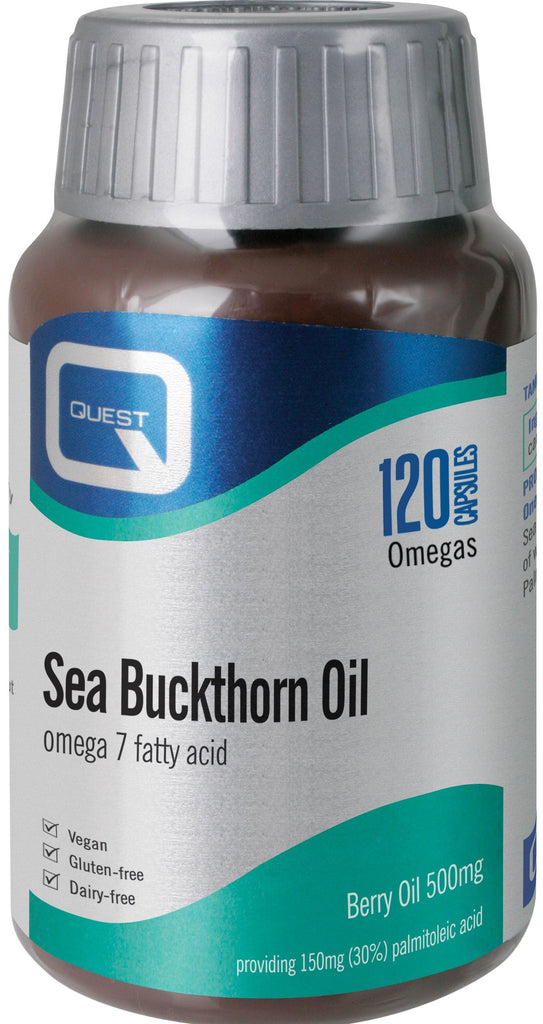 Quest Vitamins Sea Buckthorn Oil 120's
