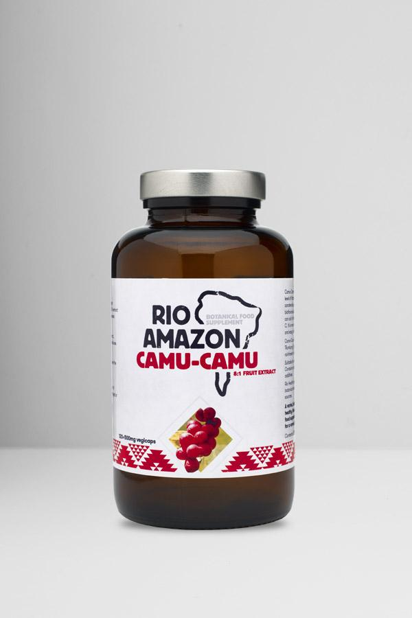 Rio Amazon Camu-Camu 8:1 Extract 500mg 120's