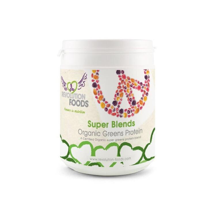 Revolution Foods Super Blends Organic Greens Protein Blend 250g