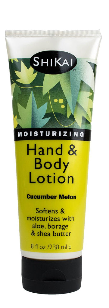 Shikai Hand and Body Lotion - Cucumber and Melon 237ml