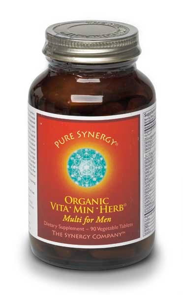 The Synergy Company (Pure Synergy) Vita Min Herb Organic Multi for Men 120's