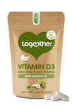 Together Vitamin D3 Bioactive Plant Source with Coconut Oil 30's