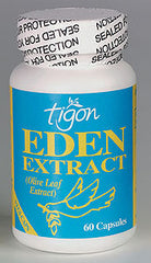 Tigon Eden Extract Olive Leaf Extract 500mg 60's