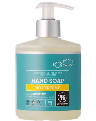 Urtekram Hand Soap No Perfume Liquid Pump 380ml