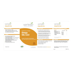 Vertese Omega Oils 3,6,9 1000mg 60's