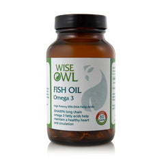 Wise Owl Fish Oil Omega 3 60's