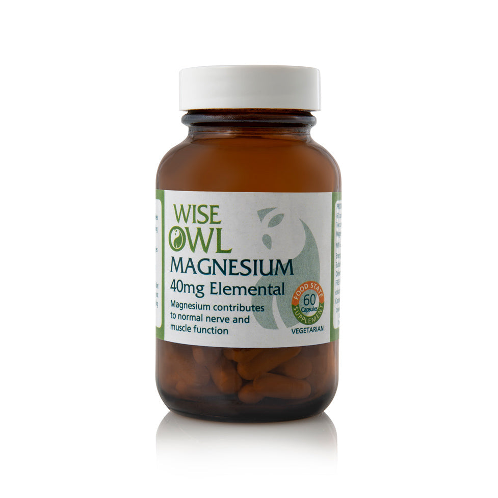 Wise Owl Magnesium 40mg 60's