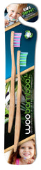 Woobamboo Kid's Sprout Bamboo Toothbrush (2 pack)