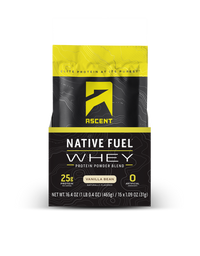 Ascent Native Whey Protien (Single) - Vanilla Bean