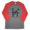 LCA 3/4 Sleeve - Vintage Red/Deep Heather