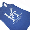 LCA Women's Royal Racerback