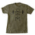 MBStix - Men Military Green Squat Tee